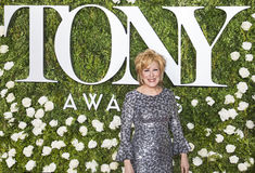 Bette`s Big Night at the Tonys Stock Image