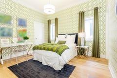 Betten Sie Raum Stockbild