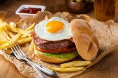 Better burger Stock Photo