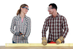 Better when done together Stock Photos