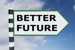 Better Future concept Royalty Free Stock Image