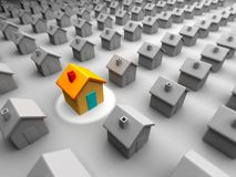 Better house Stock Photography