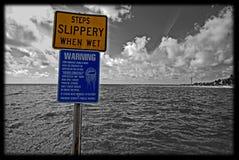 Better no swim Stock Photo