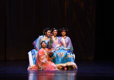 Better sisters-into the palace-Modern drama Empresses in the Palace Stock Images