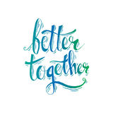 Better together Royalty Free Stock Photography