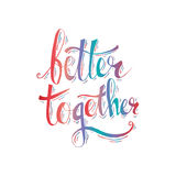 Better together Stock Image