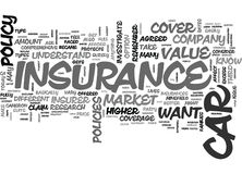 A Better View On Car Insurance Word Cloud. A BETTER VIEW ON CAR INSURANCE TEXT WORD CLOUD CONCEPT Royalty Free Stock Images