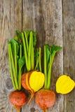 Betteraves oranges crues fraîches, betterave Photographie stock libre de droits