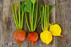 Betteraves oranges crues fraîches, betterave Photos libres de droits