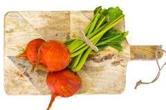 Betteraves oranges crues fraîches, betterave Photographie stock