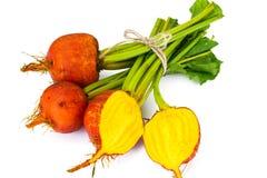 Betteraves oranges crues fraîches, betterave Photo libre de droits