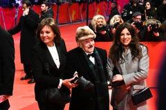 Bettina Бернхард, Artur Brauner и Алиса Brauner на Berlinale 2018 Стоковое Изображение RF
