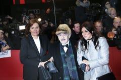 Bettina Bernhard, Artur Brauner και η κόρη του Alice Brauner Στοκ εικόνες με δικαίωμα ελεύθερης χρήσης