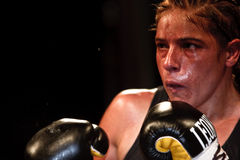 Bettina Garino - WBA World match Stock Photos