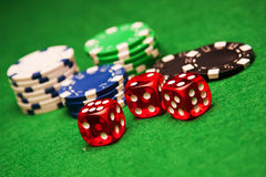 Betting! Royalty Free Stock Photos