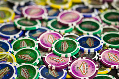 Betting Chips Stock Image