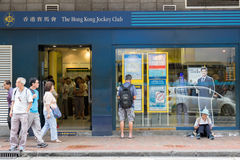 Betting entertainment, jockey club Royalty Free Stock Images