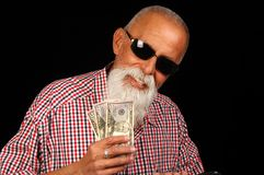 Betting Man stock photo