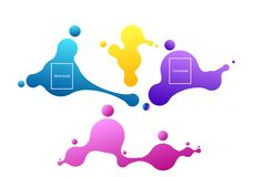 Betting online concept. Vector sport betting online basnner. Arena match results. Vector wallpaper illustration. Abstract geometric shapes. Liquid gradient vector illustration