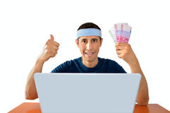 Betting in sport Royalty Free Stock Photography
