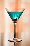 Betty Blue Cocktail Royalty Free Stock Image