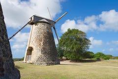 Betty ` s nadziei Historyczna Cukrowa plantacja Antigua i Barbuda - Karaibska tropikalna wyspa - obraz royalty free