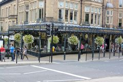 Betty's tea rooms. The Famous Betty's tea rooms in Harrogate, Yorkshire, UK Royalty Free Stock Photo