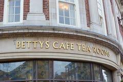 Betty's  Tea rooms Stock Photos