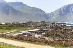 Betty ` s zatoki krajobrazu widok w Południowa Afryka Obrazy Royalty Free