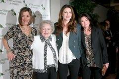 Betty-Weiß, Jane Leeves, Valerie Bertinelli, Wendie Malick Lizenzfreies Stockfoto