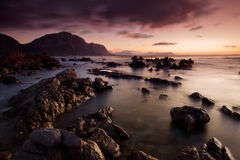 Bettys Bay Sunrise Royalty Free Stock Photography