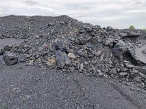 Betuminoso - carvão antracífero, carvão do nível superior foto de stock