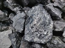 Betuminoso - carvão antracífero, carvão do nível superior imagem de stock royalty free