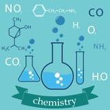Betvinga av kemi Arkivbilder
