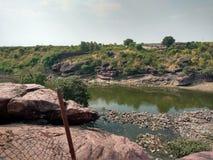 Betwa flod Arkivfoton