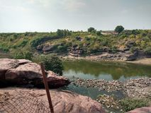 Betwa river. Stock Photos