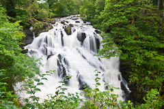 Betws-y-Coed Waterfalls Royalty Free Stock Photo