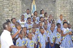 Betydelse av dopet i livet av kristen royaltyfria foton