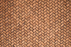 Beuatiful background of bamboo or rattan basket texture Stock Photography