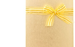 Beuatiful card with ribbon Royalty Free Stock Photo