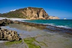 Beuatiful krajobraz Machalilla park narodowy obrazy stock