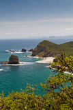 Beuatiful landscape of Machalilla National Park Stock Photo