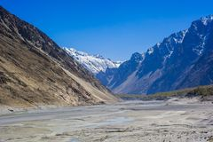 Beuatiful landscape of Northern Pakistan Royalty Free Stock Photos