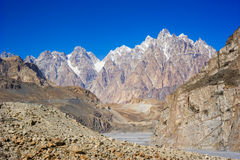 Beuatiful landscape of Northern Pakistan Royalty Free Stock Images