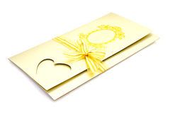 Beuatiful wedding card Royalty Free Stock Photo