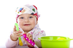 Beuaty baby Stock Images