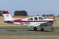 Beukbonanza F33A enige motor lichte vliegtuigen vh-VDD stock foto's