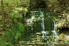 Beulah Spring Falls Arkivfoto