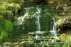 Beulah Spring Falls Fotografering för Bildbyråer