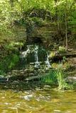 Beulah Spring Falls Imagen de archivo libre de regalías